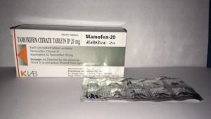 tamoxifen citrate tabet for breast cancer patients. Mamofen 20 mg