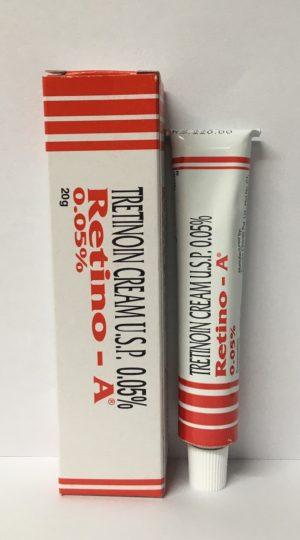 tretinoin cream 0.05% aka retino-a cream 0.05% at cheapest price online at AllGenericcure