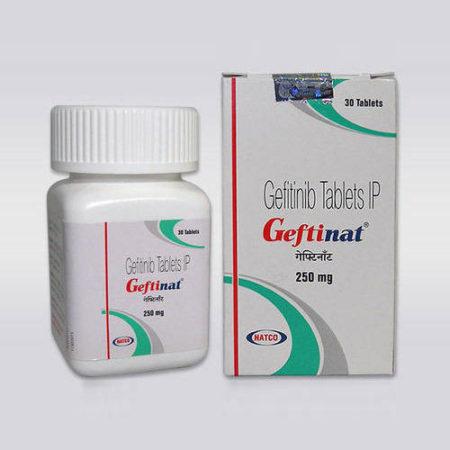 geftinat 250 mg (gefitinib tablet)