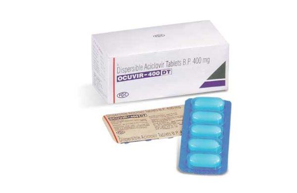 Acyclovir 400 mg tablet , ocuvir dt , herpes drug , ocuvir 400 dt , ocuvir 800 dt , ocuvir 200 dt , ocuvir dt 800