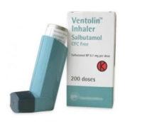 Ventorlin inhaler (go for Asthalin inhaler) as alternative