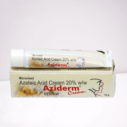 Buy Aziderm Cream 20 Azelaic Acid 10 online