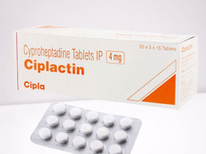 Buy Ciplactin tablet online | Cyproheptadine Hydrochloride 4mg tablet