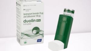 Buy Duolin Inhaler Levosalbutamol and Ipratropium inhaler