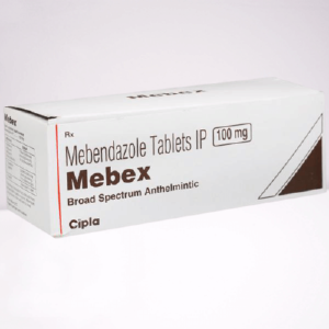 buy mebendazole tablet to kill stomach worms. Mebex tablet brand now available