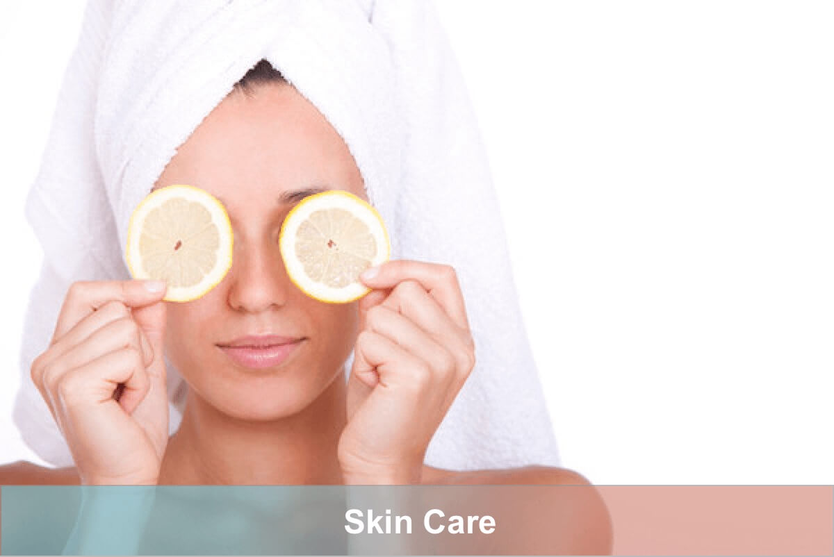 taking care of the skin